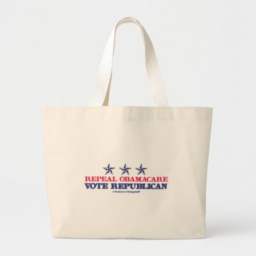 Repeal Obamacare Tote Bags