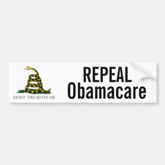 Repeal Obamacare Bumper Stickers