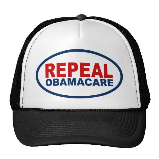 repeal obamacare mesh hat