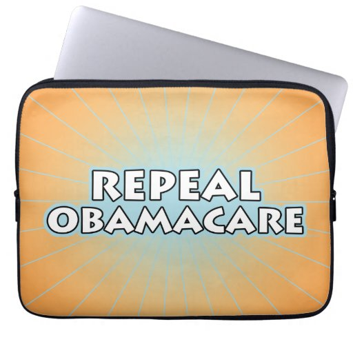 Repeal Obamacare Laptop Sleeve