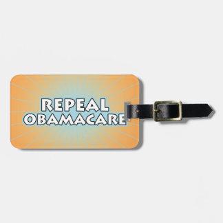 Repeal Obamacare Bag Tag
