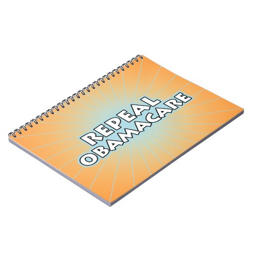 Repeal Obamacare Spiral Notebook