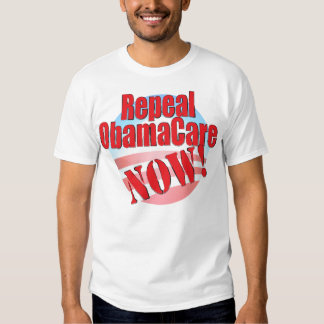 Repeal ObamaCare NOW T-shirts