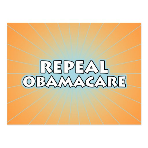 Repeal Obamacare Post Card