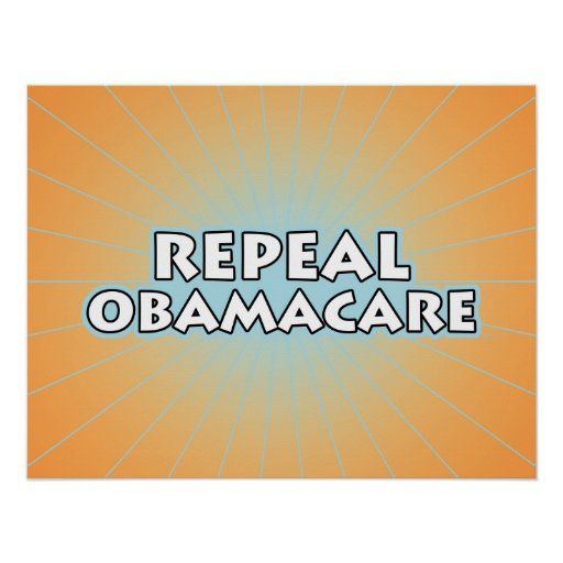 Repeal Obamacare Poster