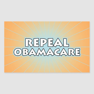 Repeal Obamacare Rectangular Sticker