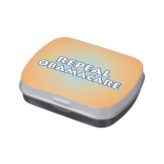 Repeal Obamacare Jelly Belly Candy Tin