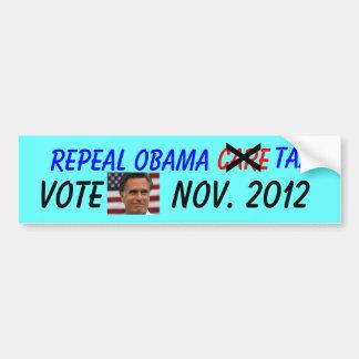 Repeal Obamacare Tax Bumper Sticker