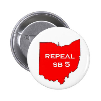 Repeal Ohio SB5 voter buttons