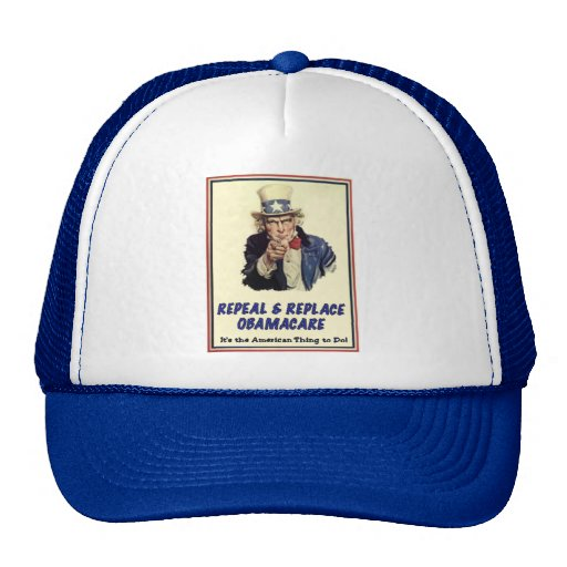 Repeal & Replace Obamacare Hat