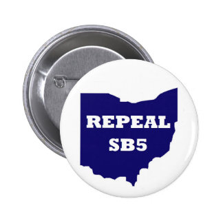 Repeal SB5 button - blue