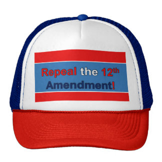 Repeal the 12th Amendment! Cap