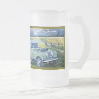 Repeat Image Frosted Beer Tankard Coffee Mugs