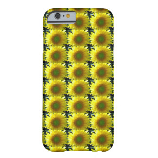 Repeating Sunflowers Barely There iPhone 6 Case