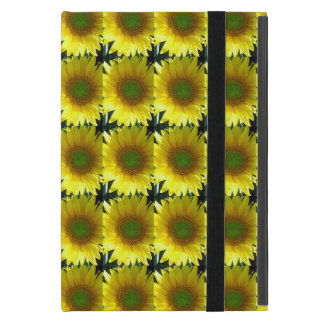 Repeating Sunflowers Cover For iPad Mini