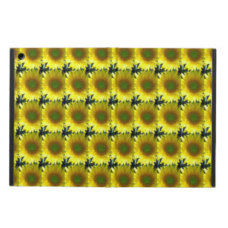 Repeating Sunflowers iPad Air Cover