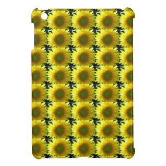 Repeating Sunflowers iPad Mini Cases