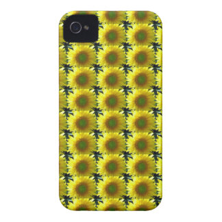 Repeating Sunflowers iPhone 4 Case-Mate Case