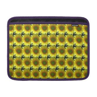 Repeating Sunflowers MacBook Sleeve