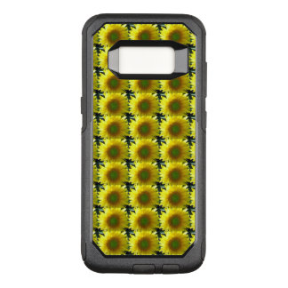 Repeating Sunflowers OtterBox Commuter Samsung Galaxy S8 Case