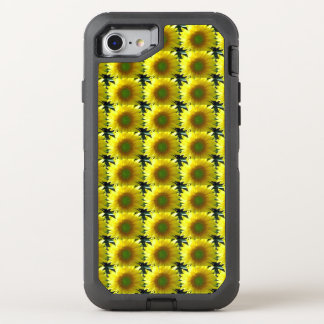 Repeating Sunflowers OtterBox Defender iPhone 8/7 Case