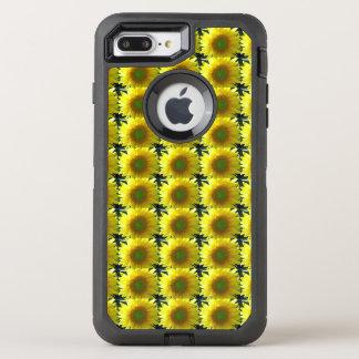 Repeating Sunflowers OtterBox Defender iPhone 8 Plus/7 Plus Case