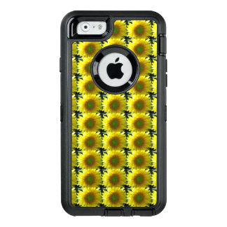 Repeating Sunflowers OtterBox Defender iPhone Case