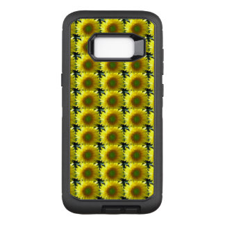 Repeating Sunflowers OtterBox Defender Samsung Galaxy S8+ Case