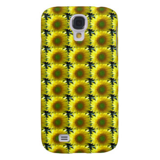 Repeating Sunflowers Samsung Galaxy S4 Cover