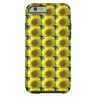 Repeating Sunflowers Tough iPhone 6 Case