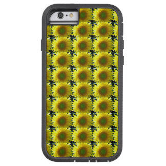 Repeating Sunflowers Tough Xtreme iPhone 6 Case