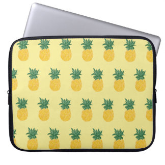 Repeating Tropical Pineapple Laptop Sleeve
