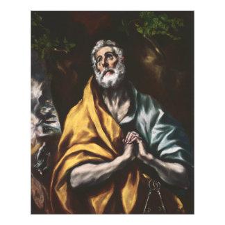 Repentant Saint Peter by El Greco Photo