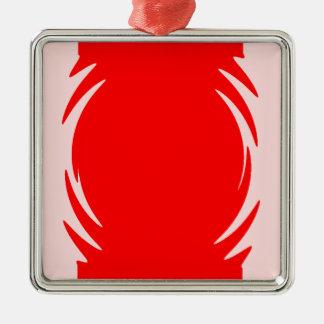 REPILO Silver-Colored SQUARE DECORATION