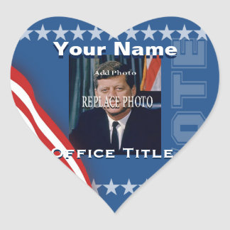 Replace Photo | Campaign Template Heart Heart Sticker