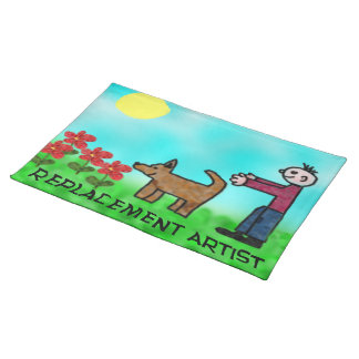 Replacement Artist Placemats