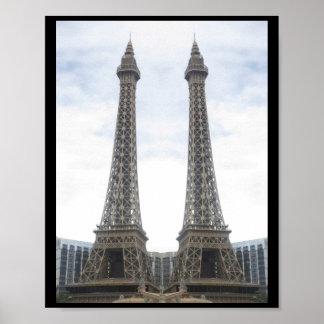 Replica EFFEL TOWER in Las Vegas, Nevada, USA Poster