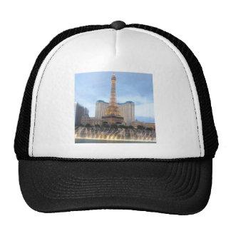 Replica EFFEL Tower VEGAS: Resorts Casinos Hotels Trucker Hat