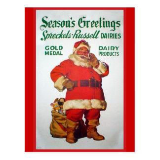 Replica Vintage advertising, Spreckells Russell Postcard