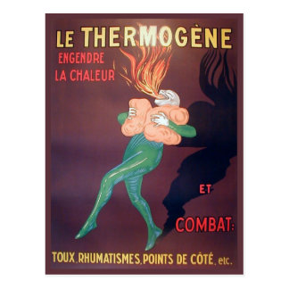 Replica Vintage advertising, Thermogene Postcard