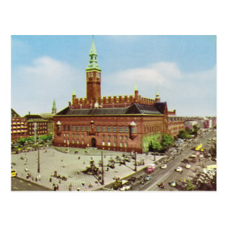 Replica Vintage  Denmark, Copenhagen, City Hall Postcard