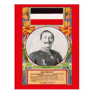 Replica Vintage Postcard   Kaiser Wilhelm II