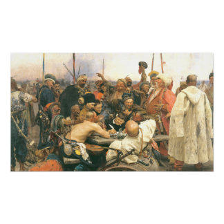 Reply of the Cossacks Poster