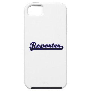 Reporter Classic Job Design iPhone 5 Cover