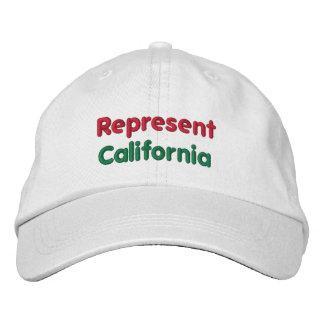 Represent California Cap Embroidered Baseball Cap
