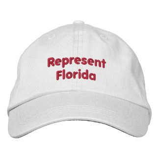 Represent Florida Cap Embroidered Cap