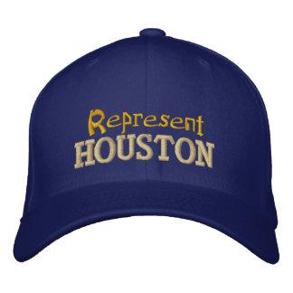 Represent Houston Cap Embroidered Baseball Cap