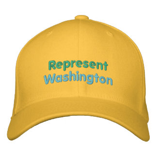 Represent Washington Cap Embroidered Hat