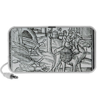 Representation of the Plague, 1572 iPod Speakers