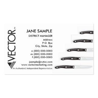 Representative & Manager Business Cards